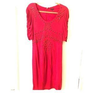Nanette Lepore size 10 pink dress